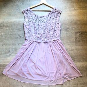 David's Bridal lavender dress size 16